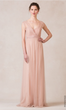 Pin It Jenny Yoo Annabelle Soft Tulle Cameo Pink 8