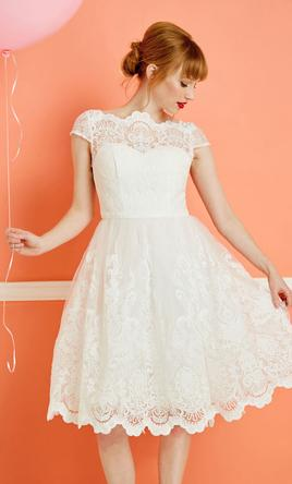 ModCloth Wedding Dress