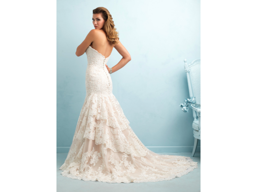 Beautiful Wedding Dresses For Older Brides Second Marriage Image ...