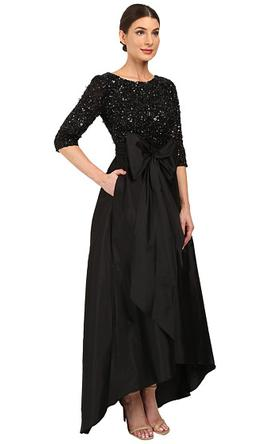 214473d75a Pin it · Adrianna Papell Beaded Bodice Taffeta Gown 12