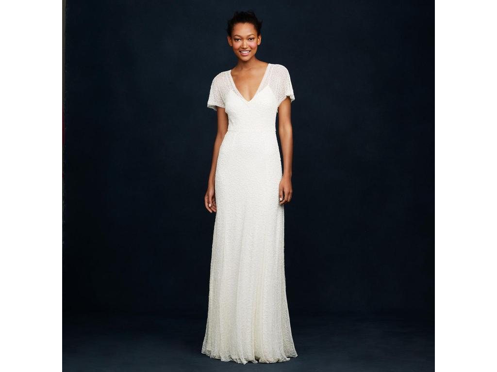 J crew beaded gown a0368 450 size 2 new un altered wedding pin it add to j crew beaded gown a0368 2 ombrellifo Choice Image