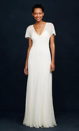 J Crew Beaded Gown A0368 2