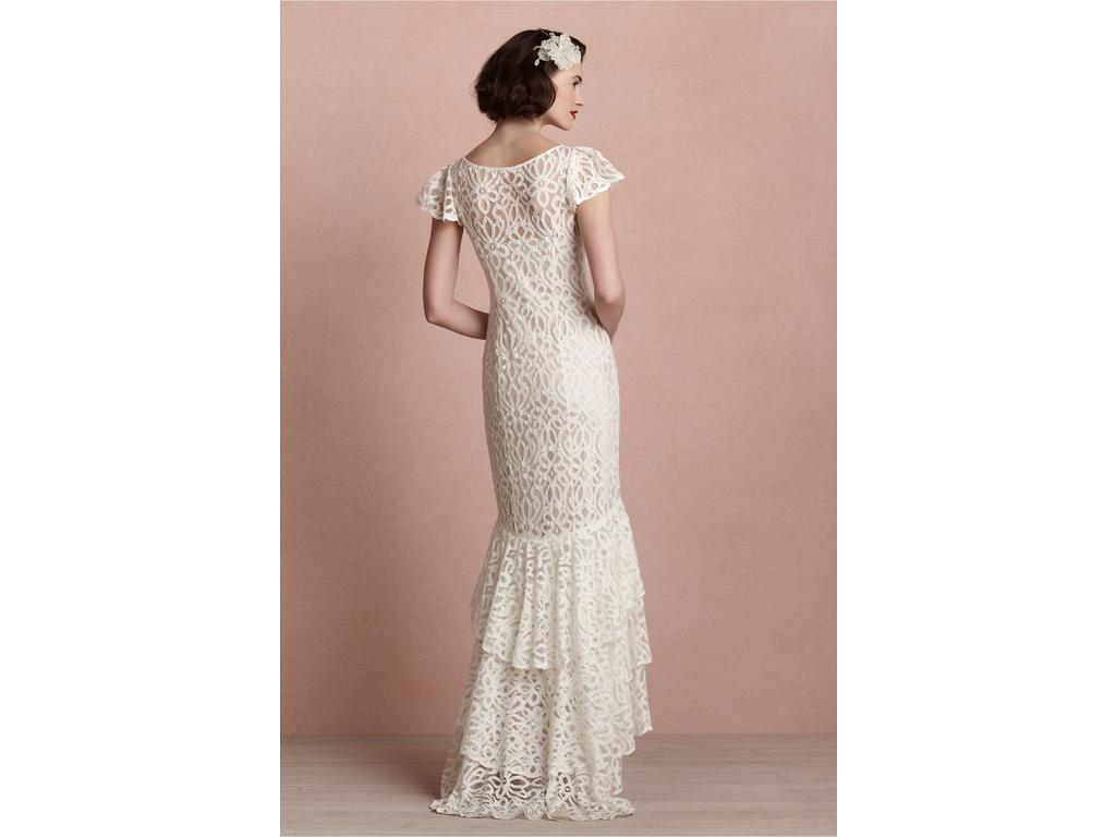 Bhldn flamenca gown 25234717 130 size 10 used for Bhldn used wedding dresses