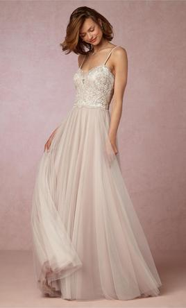 Bhldn Nina Wtoo By Watters 750 Size 00 New Un Altered Wedding Dresses