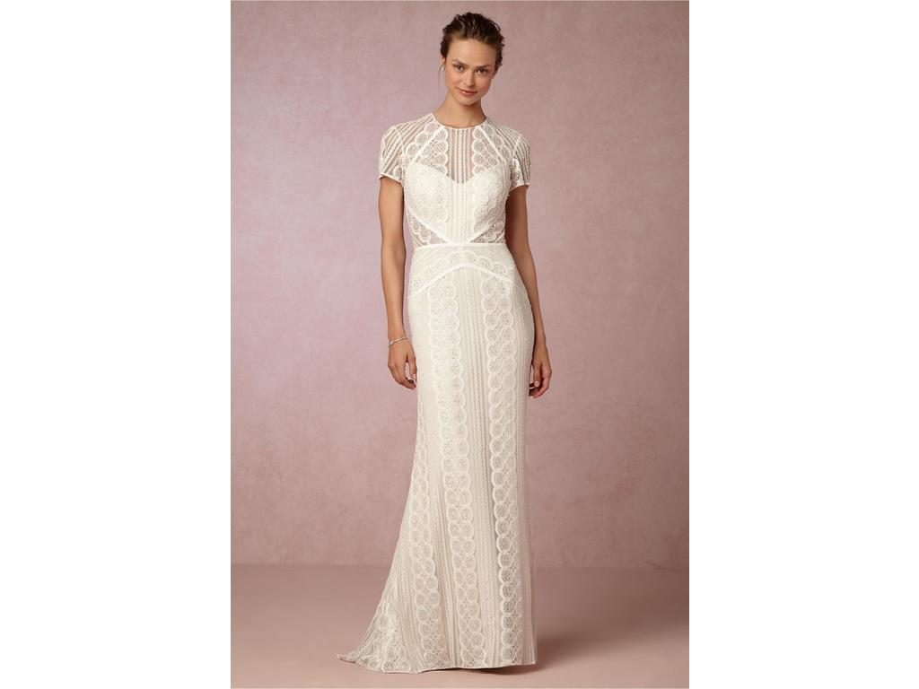 Bhldn monica gown 1 000 size 00 used wedding dresses for Bhldn used wedding dresses