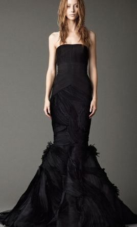 Vera wang wedding dresses for sale preowned wedding dresses for Black wedding dresses for sale