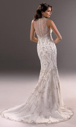 Maggie Sottero 3ms734 Ivory Silver Accent 8