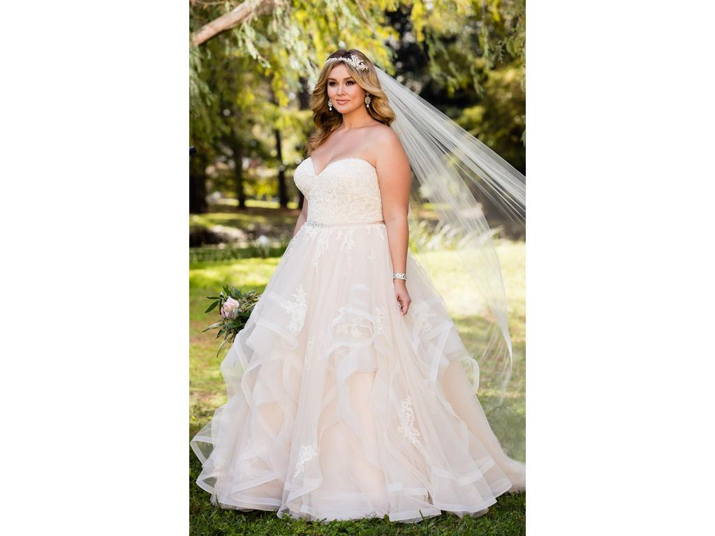 Stella york 6432 650 size 30 new un altered wedding for Size 30 wedding dresses