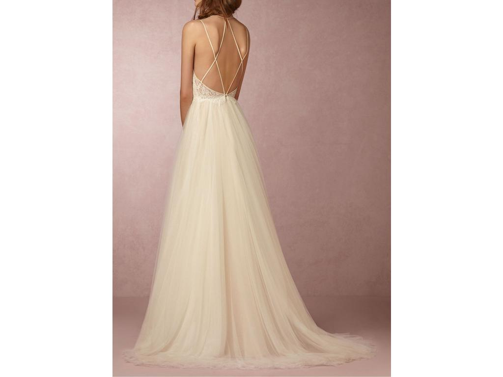 Bhldn Rosalind Gown 700 Size 00 Used Wedding Dresses