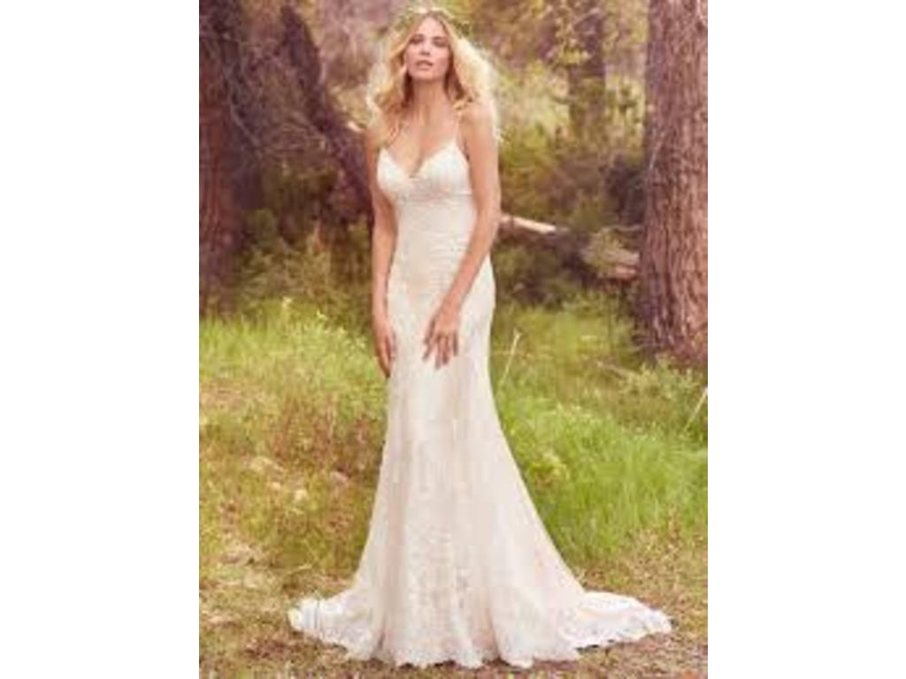 Maggie sottero nola 1 099 size 6 new un altered for Who sells maggie sottero wedding dresses