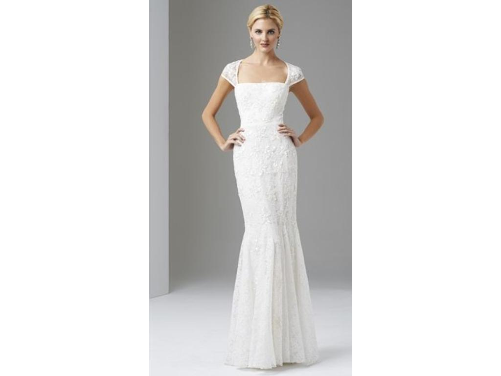 Other Adrianna Papell Cap Sleeve Trumpet Gown, $215 Size: 6 | New ...