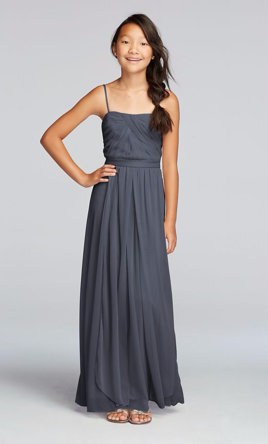 eee53621fd6 Pin it · David s Bridal Versa Convertible Long Mesh Dress 12