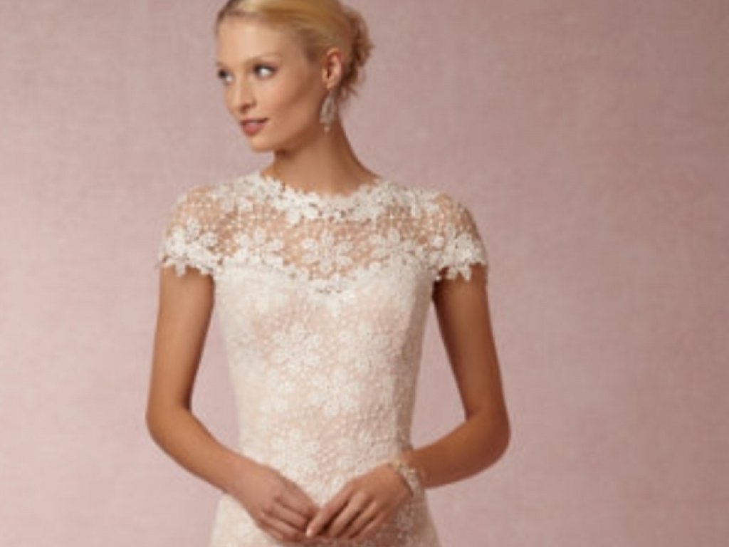 BHLDN Nova Lace Gown by Tadashi, $500 Size: 6 | New (Un-Altered ...