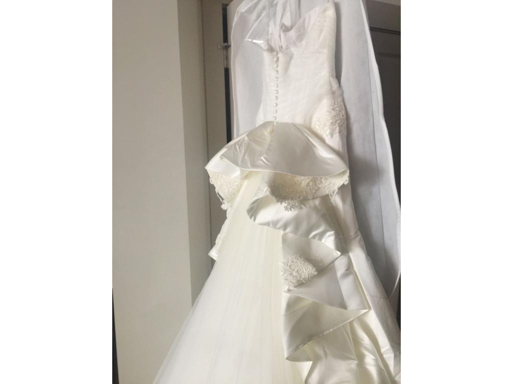 Zac posen truly 1 115 size 2 new un altered wedding for Zac posen wedding dresses sale
