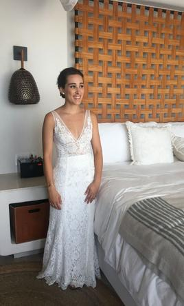 Other Made With Love Frankie Wedding Dress Used Size 4