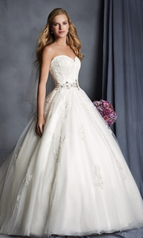 Alfred Angelo 2492, $425 Size: 20   New (Un-Altered) Wedding Dresses