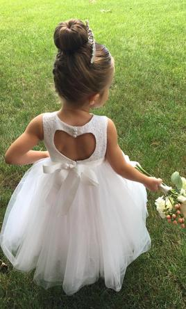David's Bridal RK1368, Size: 0 | Flower Girl Dresses