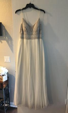 Other Adrianna Papell Beaded Gown 200 Size 10 Used Wedding Dresses