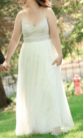 Other Adrianna Papell Beaded Gown, $200 Size: 10 | Used Wedding Dresses