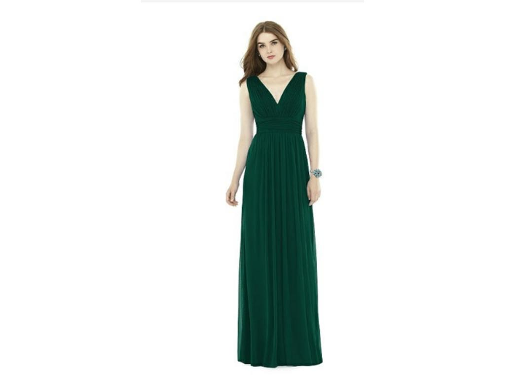 Look - Green Hunter dessy bridesmaid dresses pictures video