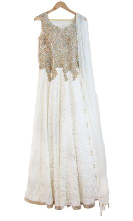 Other Indian Fusion Bridal Gown 1 700 Size 8 New Altered