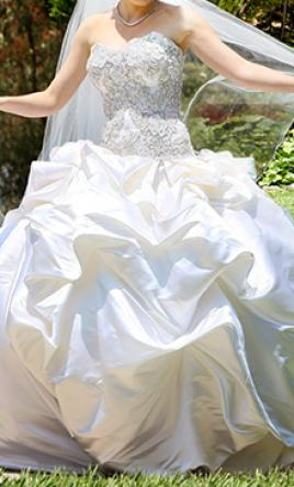 baracci wedding dresses for sale preowned wedding dresses. Black Bedroom Furniture Sets. Home Design Ideas