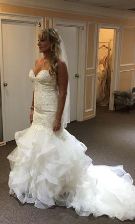 Mori lee marguerit8172 950 size 6 new un altered wedding pin it mori lee marguerit8172 6 junglespirit Image collections