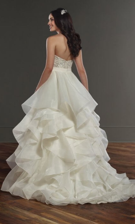 Martina Liana Two piece , $1,500 Size: 12 | New (Un-Altered) Wedding ...