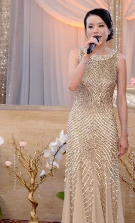 Aidan Mattox Sequined Godet Gown, Size: 0 | Mother of the Bride ...