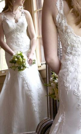 Allure Bridals Exclusive By A C E 190 Size 4 Used Wedding Dresses