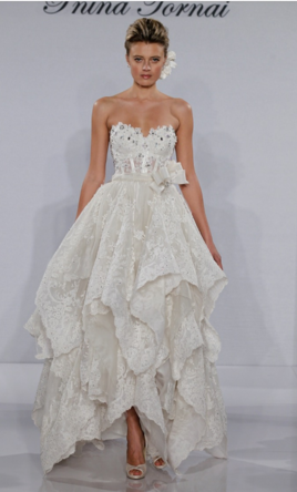 Pnina tornai 4600 size 4 used wedding dresses pin it add to pnina tornai 4 junglespirit Choice Image