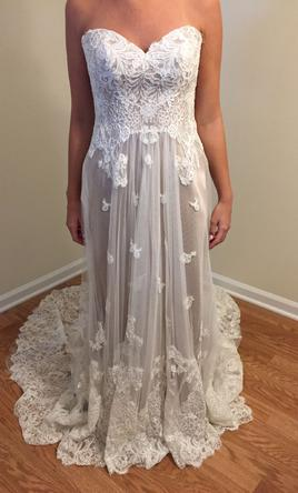 Pin It Essense Of Australia Embroidered Lace Over Satin D1787ZZ 10