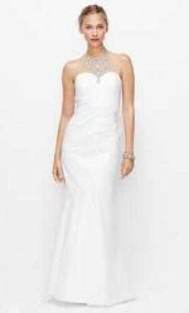 Ann taylor wedding dresses for sale preowned wedding dresses ann taylor jeweled halter wedding dress 330204 6 junglespirit Choice Image