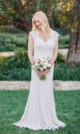 Bhldn Real Bride Wedding Dress Pictures