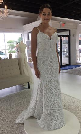 Hayley Paige West 1710 2400 Size 10 New Un Altered Wedding