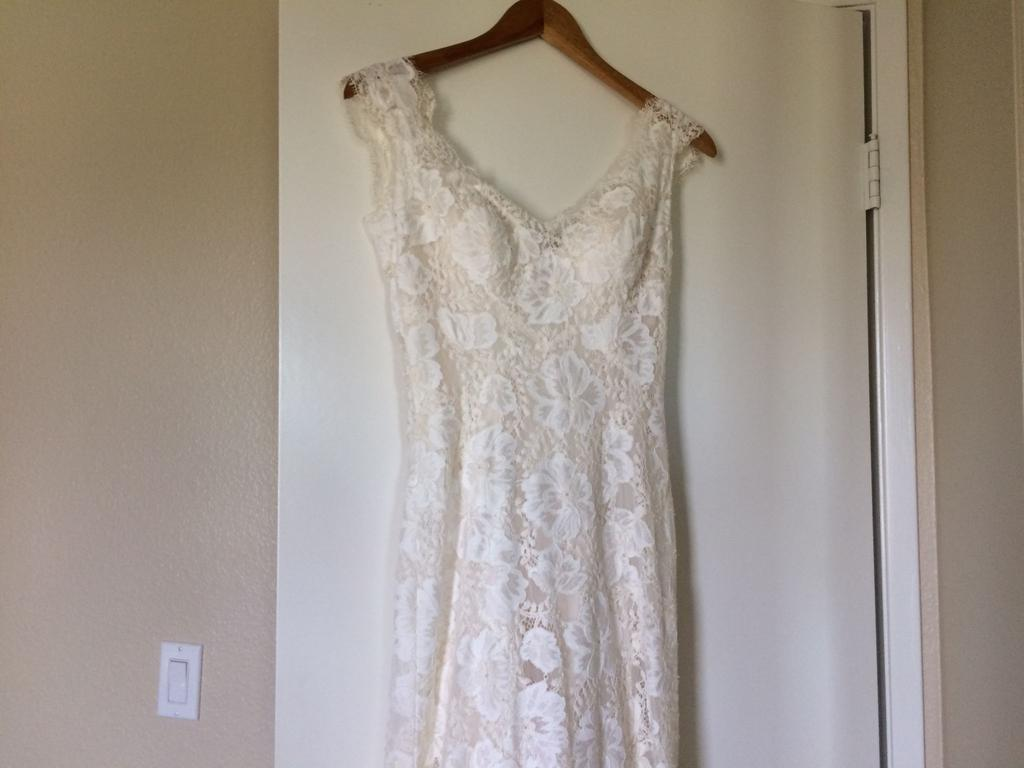 Bhldn amalia 699 size 4 used wedding dresses for Bhldn used wedding dresses