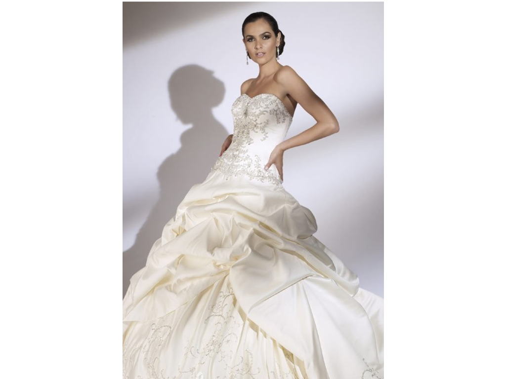 Jacquelin Exclusive 19850, $500 Size: 4 | New (Un-Altered) Wedding ...