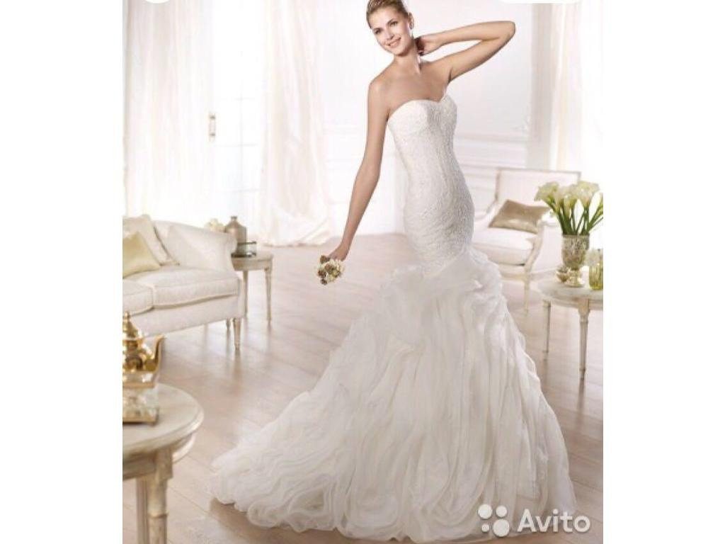 Pronovias like ontina 700 size 0 used wedding dresses for Used wedding dress size 0