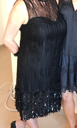 Other Mirage Feathered Dress black by Elie Tahari SOHO N 8