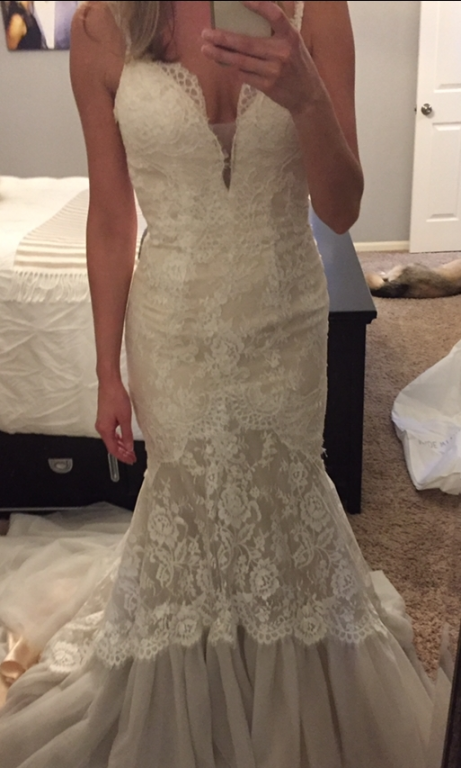 Other asha made with love 750 size 8 sample wedding for Made with love wedding dresses
