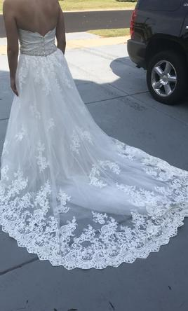 cc49b69ac95 Pin it · Allure Bridals C387 (train only) 14
