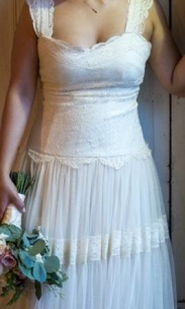 Other Lace Tulle and Lace Wedding Dress 6