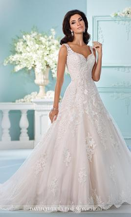 David Tutera Violet Size Sample Wedding Dresses
