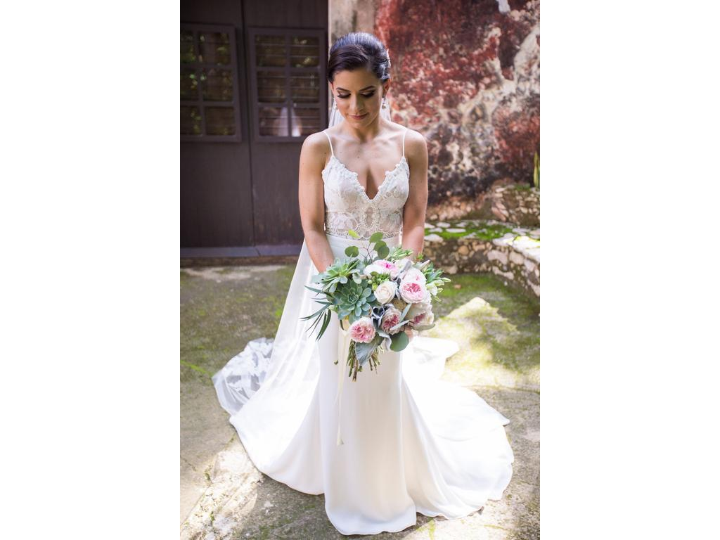 Lihi Hod Midnight Ballerina Top with Ivory Organza Bow, $2,000 Size ...