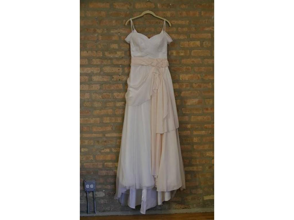 Galina Tulle A Line Wedding Dress W Swag Sleeves Wg3779
