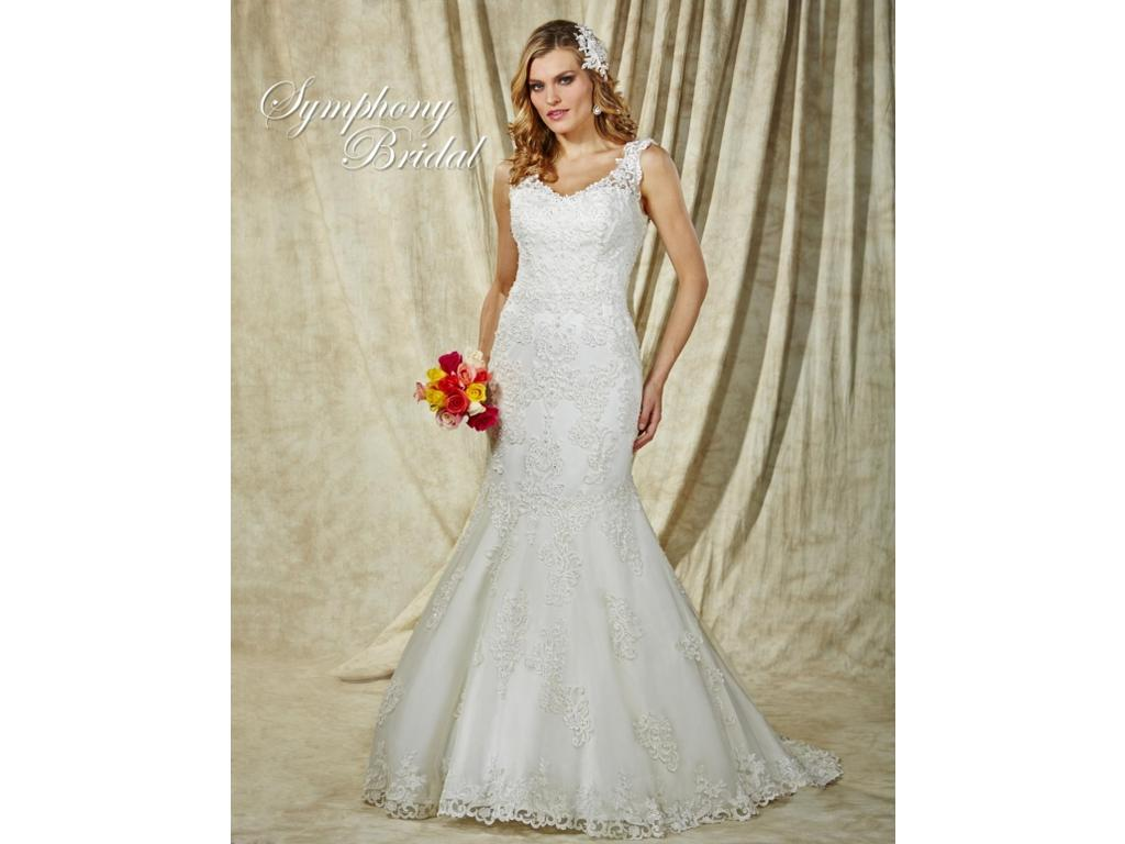 Symphony bridal s3602 985 size 8 sample wedding dresses pin it ombrellifo Image collections