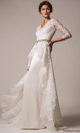 Pin It Temperley London Posey Lace Silk Organza Gown 8