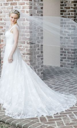 Used wedding dresses buy sell used designer wedding gowns monique lhuillier treasure 4 junglespirit Image collections