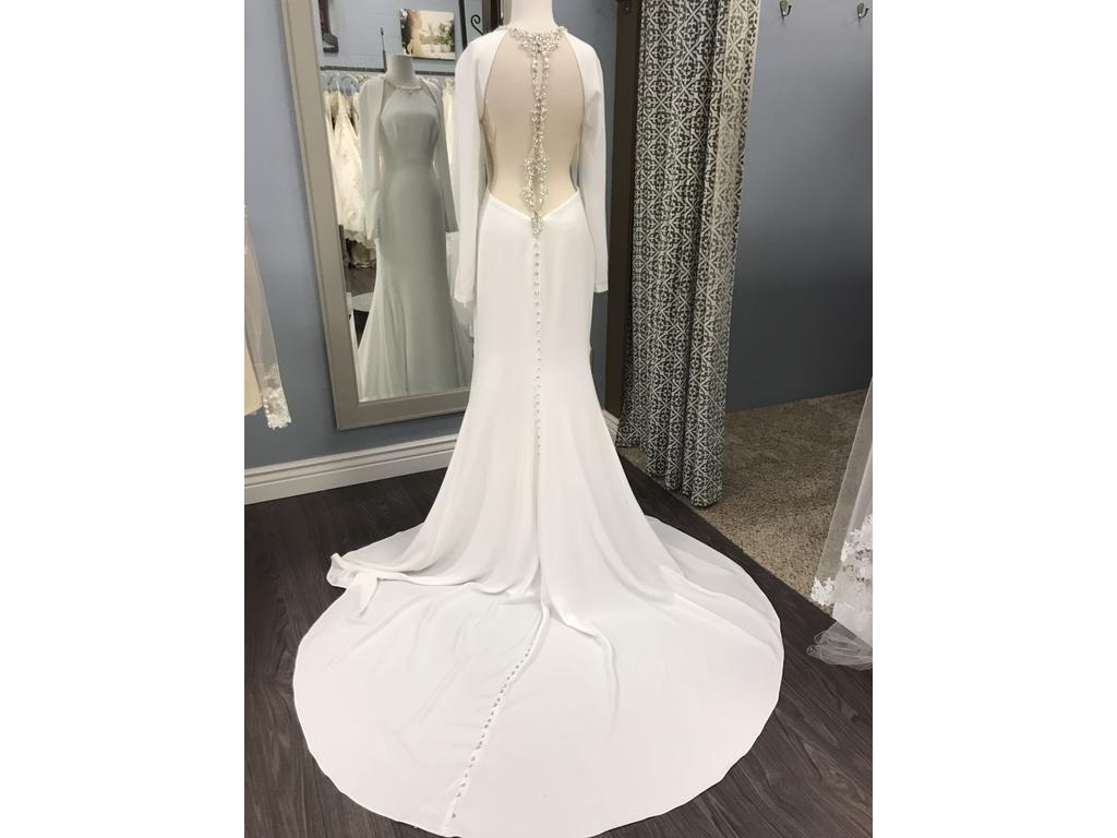Simple Wedding Dresses Under 500: Maggie Sottero Arleigh, $900 Size: 8