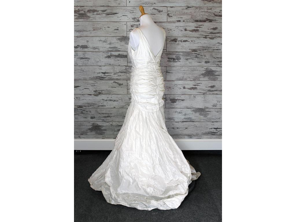 Nicole Miller Nicole Miller Fit -And- Flare Wedding Dress